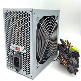 パソコンの電源のパソコンのコンピュータのデスクトップの電源