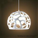 Lámpara pendiente de la lámpara moderna de aluminio de la fuente de China