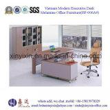 Het moderne Bureau van de Melamine van het Kantoormeubilair Met l-Vorm (BF-006A#)