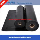 Rullo di gomma nero di alta qualità SBR