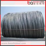 Fio de aço laminado a alta temperatura principal Rod da classe de qualidade SAE1008