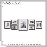 Frame de retrato de madeira da galeria da arte da parede de Mulit para a sala de visitas
