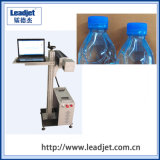 Máquina de la codificación del laser del CO2 de Leadjet para la botella del animal doméstico