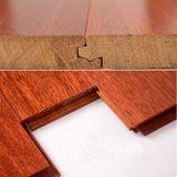 Plancher en bois plat de Merbau de chauffage de plancher solide de bois dur