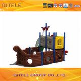 安く多彩なプラスチック子供の運動場装置