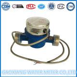 10L/パルスの水道メーターのマルチジェット機の水道メーター