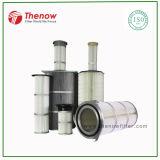 Cartuccia industriale di filtro dell'aria di filtrazione per l'aspirazione delle polveri