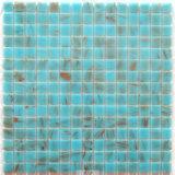 Плитка мозаики синего стекла