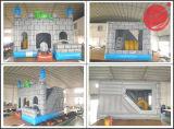 Gorila inflable del puente para el patio de la familia (T3-709)