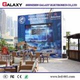 Visualización video del alquiler P4/P5/P6 LED de la galaxia/pared/pantalla al aire libre a todo color para la demostración/la etapa/la conferencia/el concierto