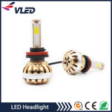Motor LED Headlight Grande potência 3600lm H8 H9 H11 Auto LED Head Lamp
