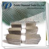 Segment de diamant de lame de machine-outil de coupeur de granit pour la brame en pierre