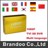 1 Kanal 1080P Tvi statischer Ableiter DVR, goldenes DVR