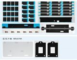 CER anerkanntes Elektroden-Platten-Ausschnitt-Maschinen-stempelschneidenes Maschine DREHCER 5 Stationen