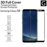 Protector curvado completo a estrenar para Samsung, galaxia S8 de la pantalla del vidrio Tempered de 2017 del AGC Asahi del vidrio 9H 3D accesorios del teléfono móvil de Samsung