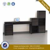 Самомоднейший стол компьютера офиса меламина с Bookcase (HX_0182)