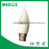 Lampadina della lampadina LED della fiamma di E14 E27 B22 4W LED