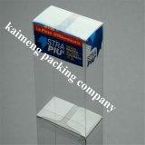 Роскошная коробка подарка PVC верхнего качества конструкции складная пластичная для пакета тканей (коробка подарка)