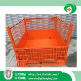 La gabbia pieghevole della rete metallica del nuovo metallo per il magazzino