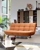 広州の鉄フレームのリネンスポンジの家具の居間のソファー