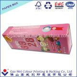 Бумажные коробки для коробки подарка пакета зубной пасты бумажной