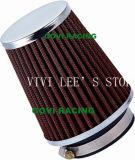 90 универсалия воздушного фильтра 76mm mm красная для трубы входа автомобиля