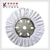 Roda de polimento de pano de pano puro, rodas de polir de moagem de banco