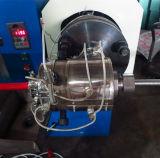 PVC plano. Máquina de capa del PE para el manguito del metal flexible