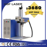 Máquina portátil movente do gravador do laser da fibra para /Aluminium/ de cobre Tiatanium/ABS