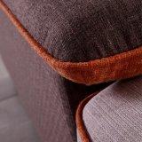 Софа ткани новой мебели дома конструкции самомоднейшая (FB1130)