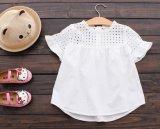 [ليتّل جرل] فصل صيف [ت-شيرت] نمط غور أبيض قميص