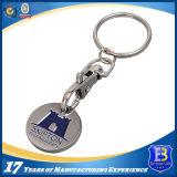 Изготовленный на заказ покрывая эмалью монетка Keychain вагонетки (Ele-TC010)
