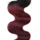 Верхние человеческие волосы бразильянина Remy девственницы качества 7A 100% Unprocessed естественные