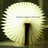 Plegable LED lámpara decorativa libro