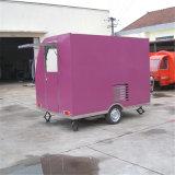 Carrelli mobili degli alimenti a rapida preparazione della via esterna (SHJ-FS290B)