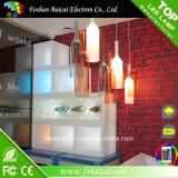 LED-Acrylwein-Zahnstange mit nachladbarer Batterie