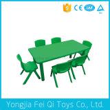 교육 장비 플라스틱 직사각형 테이블