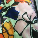 Полиэфир напечатал платье осени/зимы, ткань Twill одежды куртки