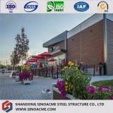 Construção de edifício elevada pré-fabricada da construção de aço da ascensão do projeto novo