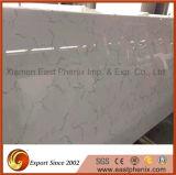 Polished белые Crystalized большие слябы для Countertop кухни