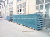 Il tetto ondulato di colore della vetroresina del comitato di FRP/di vetro di fibra riveste W172008 di pannelli