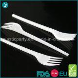 Ontruim/de Witte PS van de Kleur Plastic Beschikbare Vork van het Dessert van de Partij