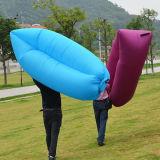 Lamzac 게으른 팽창식 소파 베드 공기 비발한 디자인 슬리핑백