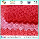 Pu bedekte de Stof van de Rugzak van het Net van de Polyester van 100% 400d met een laag