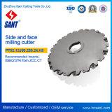 高精度CNCの旋盤のIndexable製粉カッターPT02.12j50.250.24。 H8によって推薦されるZccct SMP01-250X8-K50-Sn12-24