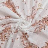 Tessuti in rilievo bianchi del merletto di cerimonia nuziale, merletto all'ingrosso del testo fisso di New York del merletto del vestito da cerimonia nuziale