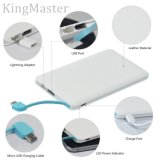 Hot Selling New Universal Slim Carte de crédit Power Bank 4000mAh