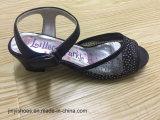 Sandales à talons plats sexy style nouveau style / Sandale à la mode