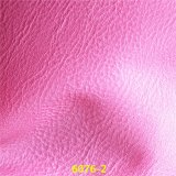 Lichee Pattern Synthetic PU Furniture Leather para Sofa Seat Cover