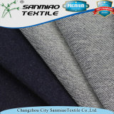 300GSM Hot Indigo de venda a quente Terry Knitted Denim Fabric for Garments